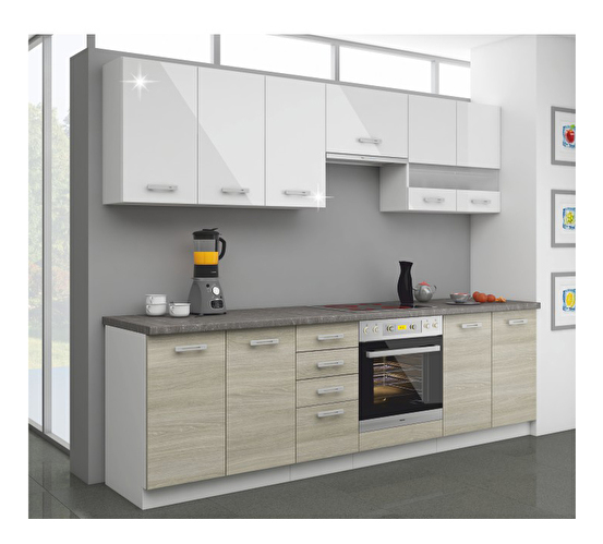 Kuchyň - Tempo Kondela - Lewis 260 cm