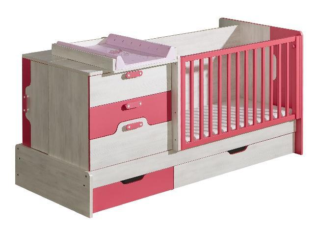 Dětská postel - Neko - NU9 (s roštem a úl. prostorem)