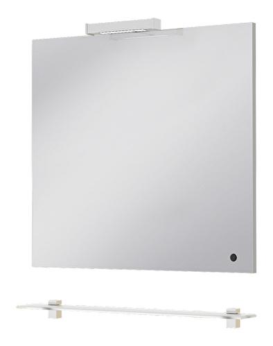 Zrcadlo - Juventa - Zlata - ZlM-85 W (s poličkou, LED osvětlením a pohybovým senzorem)