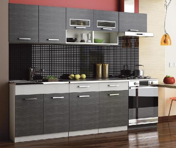 Kuchyně - Casarredo - Moreno II 240 cm (grafit bis)