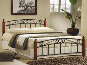 Manželská postel 160 cm - Tempo Kondela - Dolores (s roštem)