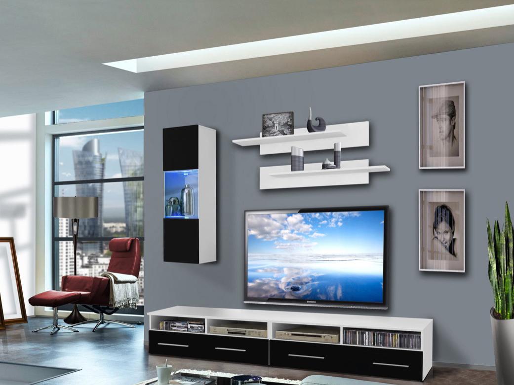 Obývací stěna - ASM - Clevo - 25 WS CL C1 (s osvětlením)