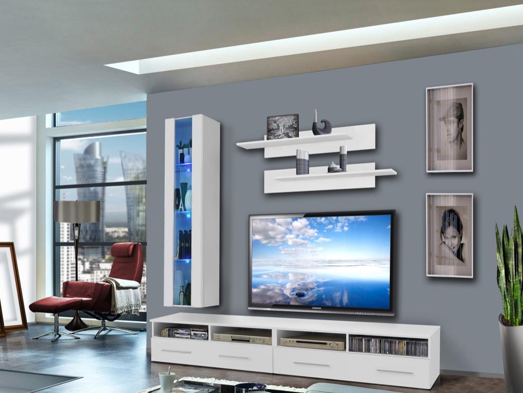 Obývací stěna - ASM - Clevo - 25 WW CL E1 (s osvětlením)