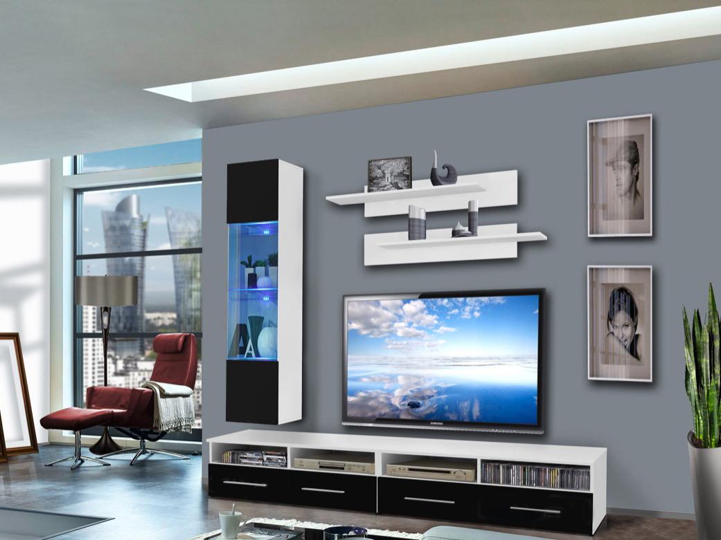 Obývací stěna - ASM - Clevo - 25 WS CL F1 (s osvětlením)