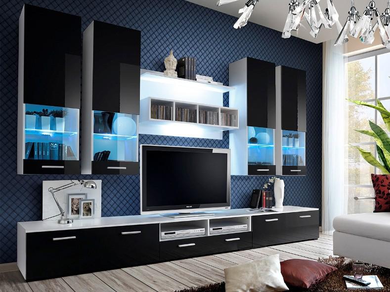 Obývací stěna - ASM - Dorade - 20 WS DO (s osvětlením)