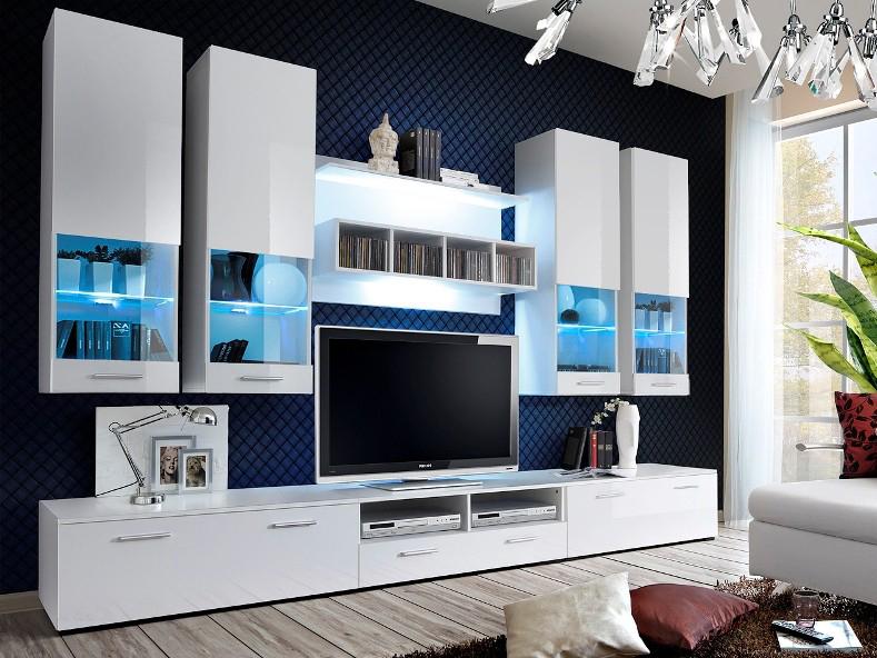 Obývací stěna - ASM - Dorade - 20 WW DO (s osvětlením)
