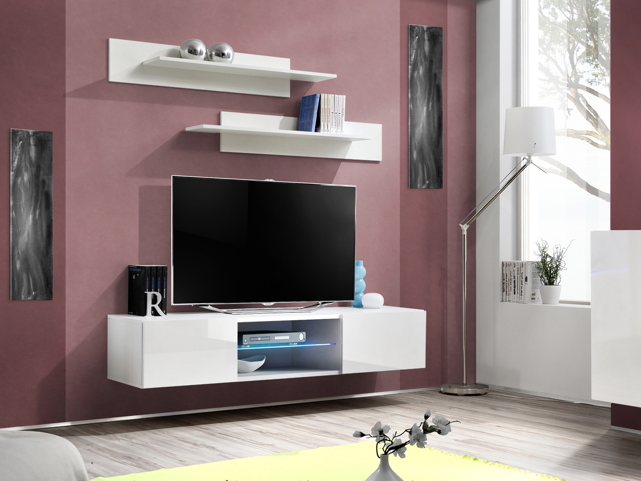 TV stolek/skříňka - ASM - Ferryhill - 25 WW FY 33