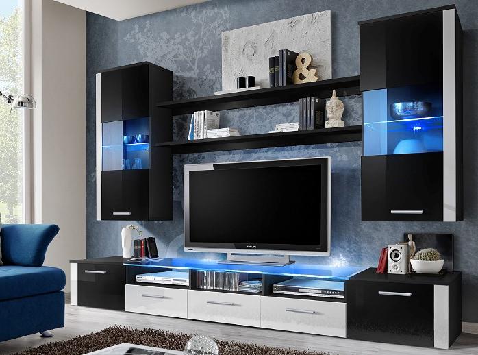 Obývací stěna - ASM - Fresh - 21 ZW FR (s osvětlením)