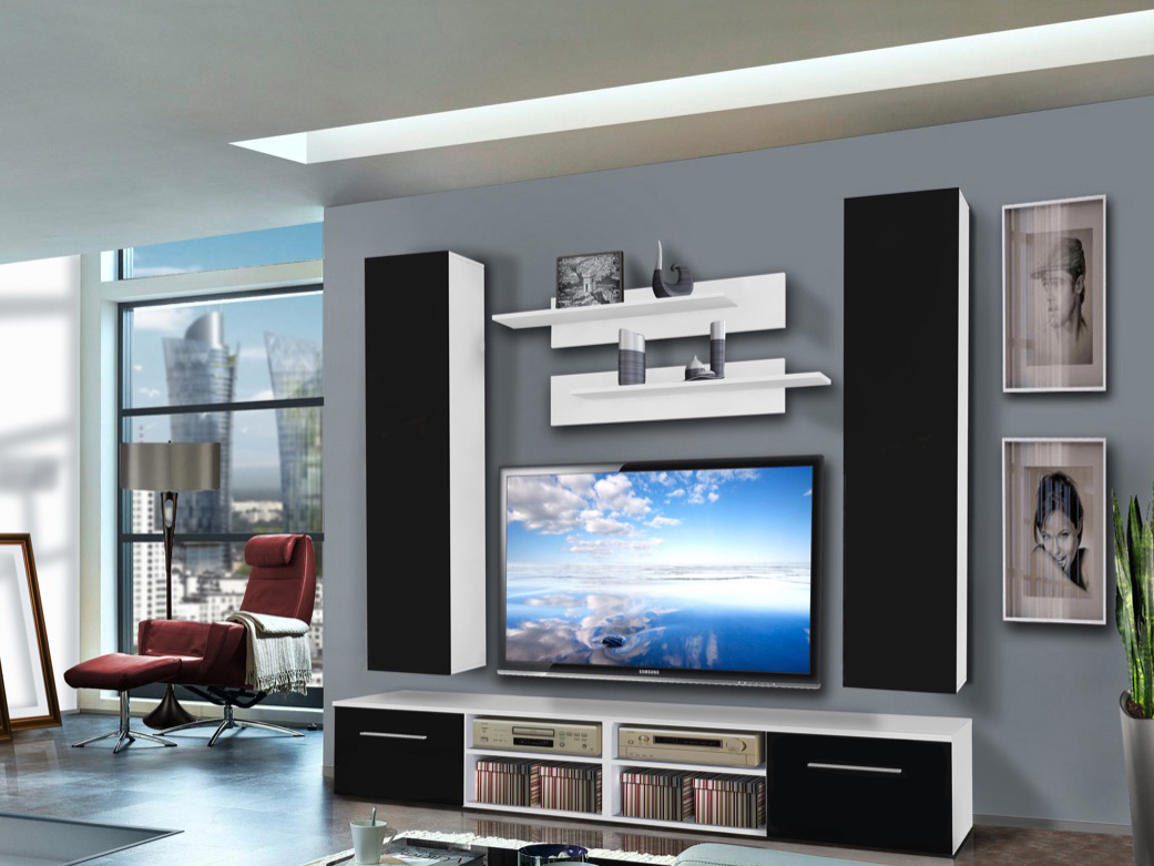 Obývací stěna - ASM - Invento - 25 WS IN D2