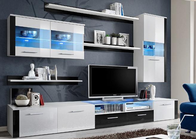Obývací stěna - ASM - Logo Fresh - 20 WS LF (s osvětlením)