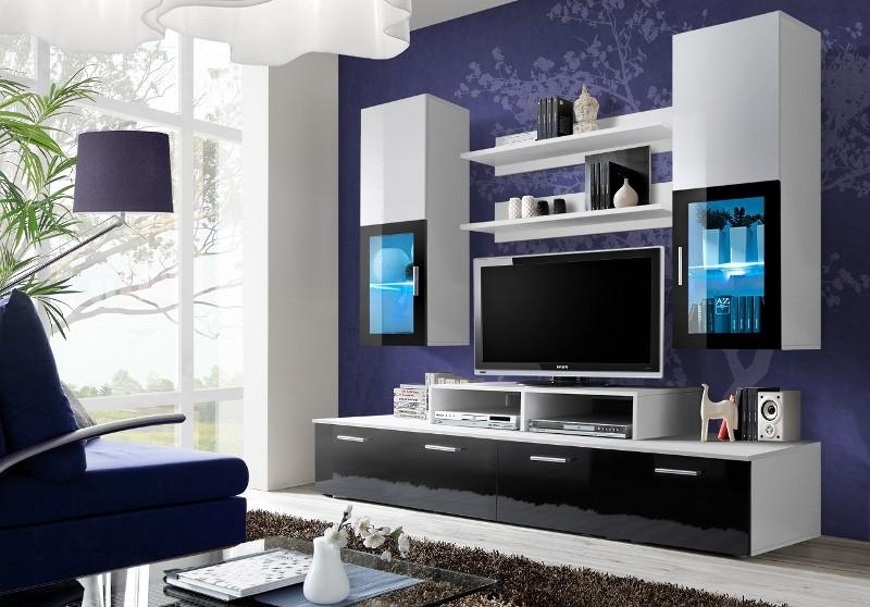 Obývací stěna - ASM - Mini - 23 WZ MI (s osvětlením)
