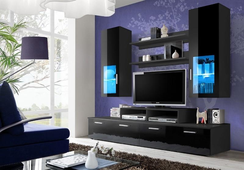 Obývací stěna - ASM - Mini - 23 ZZ MI (s osvětlením)