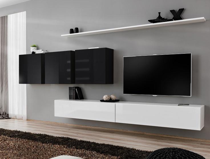 Obývací stěna - ASM - Switch VII - 26 WS SW 7