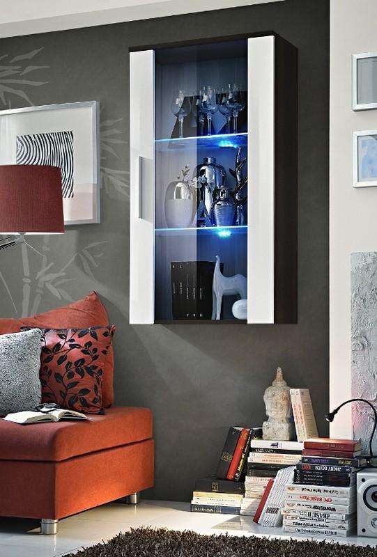 Vitrína na stěnu - ASM - Neo - 23 EMWH N2 (s osvětlením)