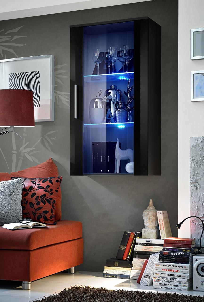 Vitrína na stěnu - ASM - Neo - 24 ZZ N2 (s osvětlením)