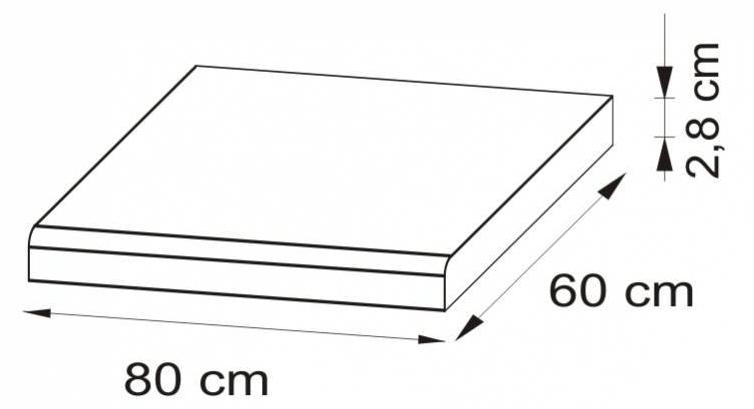 Pracovní desky (80 cm) - Bog Fran - Eliza - Blat 80