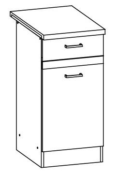 Spodní kuchyňská skříňka - Bog Fran - Eliza - EZ11 D40 S1