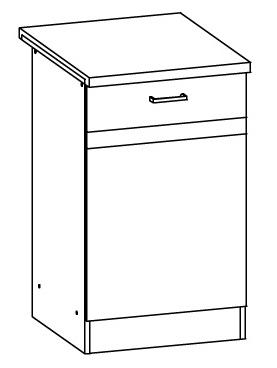 Spodní kuchyňská skříňka - Bog Fran - Eliza - EZ13 D50