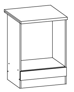 Spodní kuchyňská skříňka na troubu - Bog Fran - Eliza - EZ15 D60P