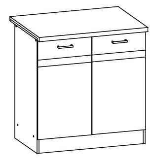 Spodní kuchyňská skříňka - Bog Fran - Eliza - EZ16 D80