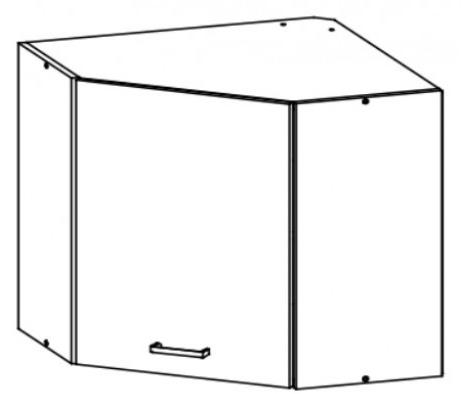 Horní kuchyňská skříňka, rohová - Bog Fran - Eliza - EZ7 G60NW