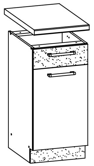 Spodní kuchyňská skříňka - Bog Fran - Modena - MD12 D30 S1