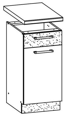 Spodní kuchyňská skříňka - Bog Fran - Modena - MD13 D40 S1
