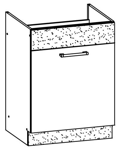 Spodní kuchyňská skříňka pod dřez - Bog Fran - Modena - MD18 D60Z