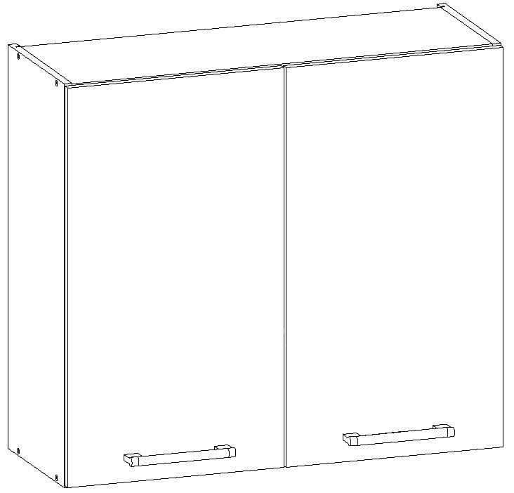 Horní kuchyňská skříňka - Bog Fran - Modena - MD26 G80