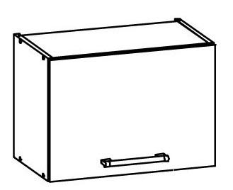 Horní kuchyňská skříňka nad digestoř - Bog Fran - Modena - MD6 G50/O