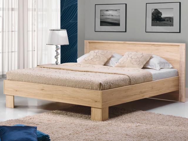 Manželská postel 160 cm - Bog Fran - Nicol - NC 24