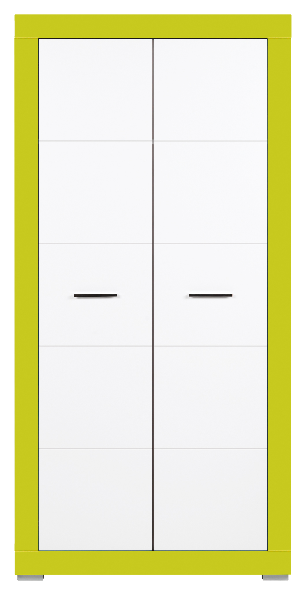 Šatní skříň - Bog Fran - Twin - TW 9 (akvamarín + bílá matná)