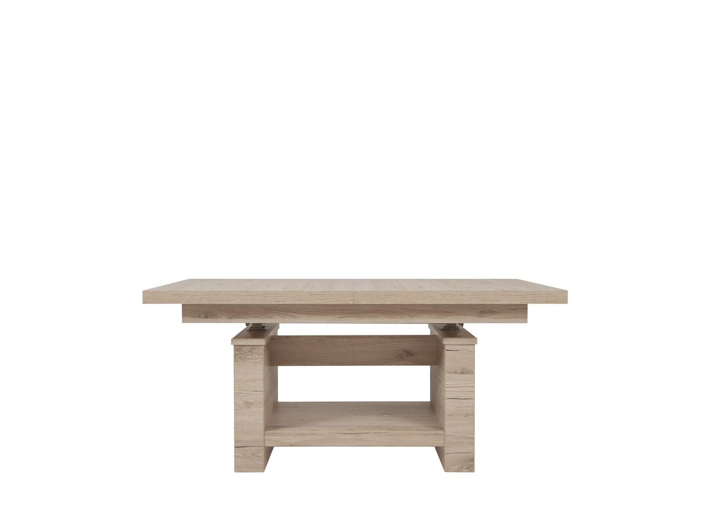 Konferenční stolek - BRW - Heze 2 (dub san remo světlý)