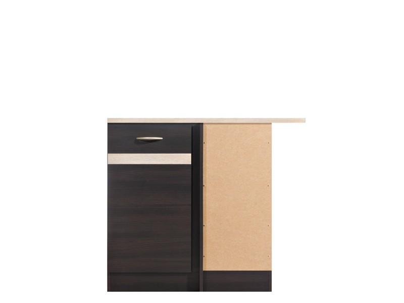 Spodní kuchyňská skříňka, rohová - BRW - Junona line - DNW/100/82/p (Wenge + Dub sonoma)