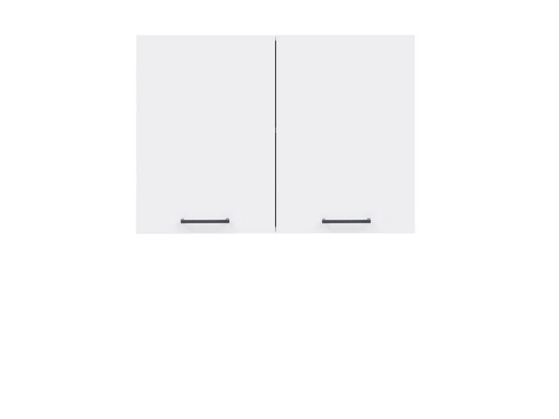 Horní kuchyňská skříňka - BRW - Junona line - G2D/80/57 (Lesk bílý)