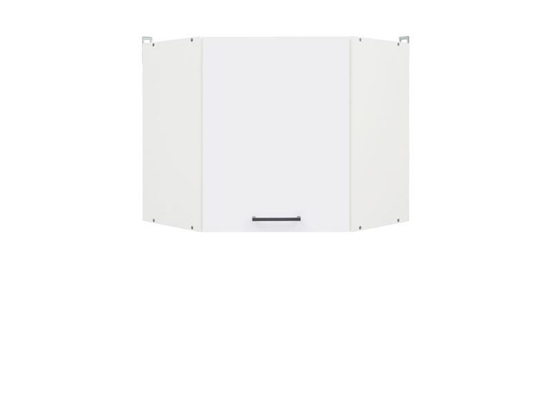 Horní kuchyňská skříňka, rohová - BRW - Junona line - GNWU/57/LP (Lesk bílý)