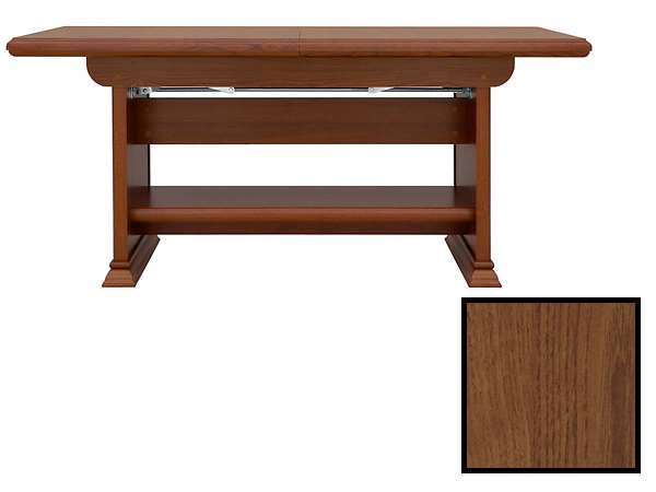 Konferenční stolek - BRW - KENT - ELAST 130/170 (Kaštan)