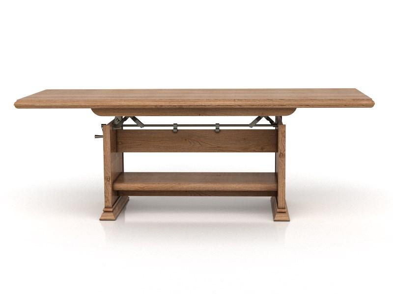 Konferenční stolek - BRW - KENT - ELAST 130/170 (Dub Amsterdam)
