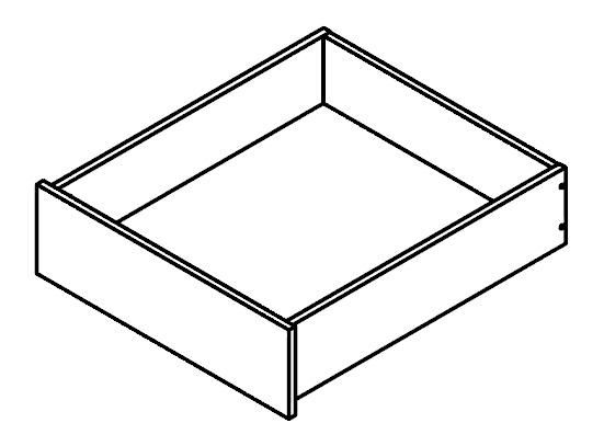 Zásuvka do šatní skříně - BRW - Kamix - SZUF/50