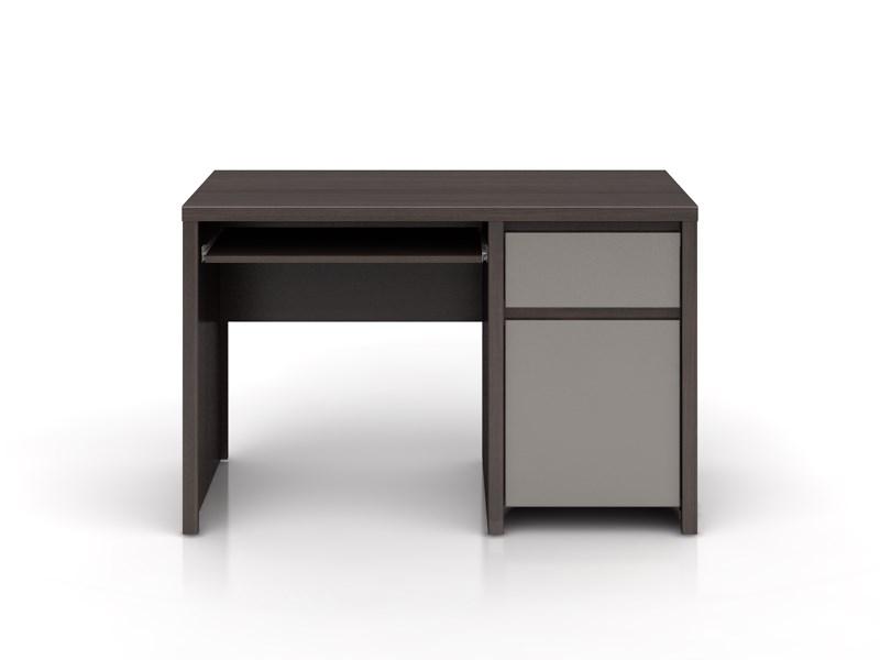 PC stolek - BRW - Kaspian - BIU1D1S/120 (wenge + vysoký lesk šedý)