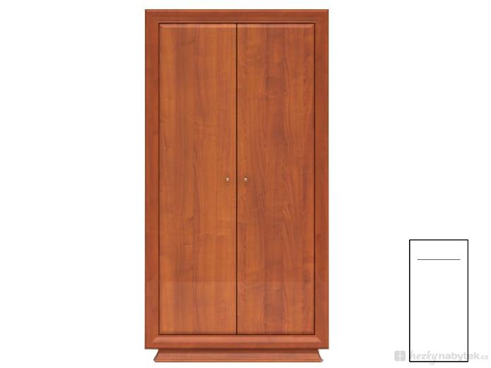 Šatní skříň - BRW - LARGO CLASSIC - SZF2D/20/10