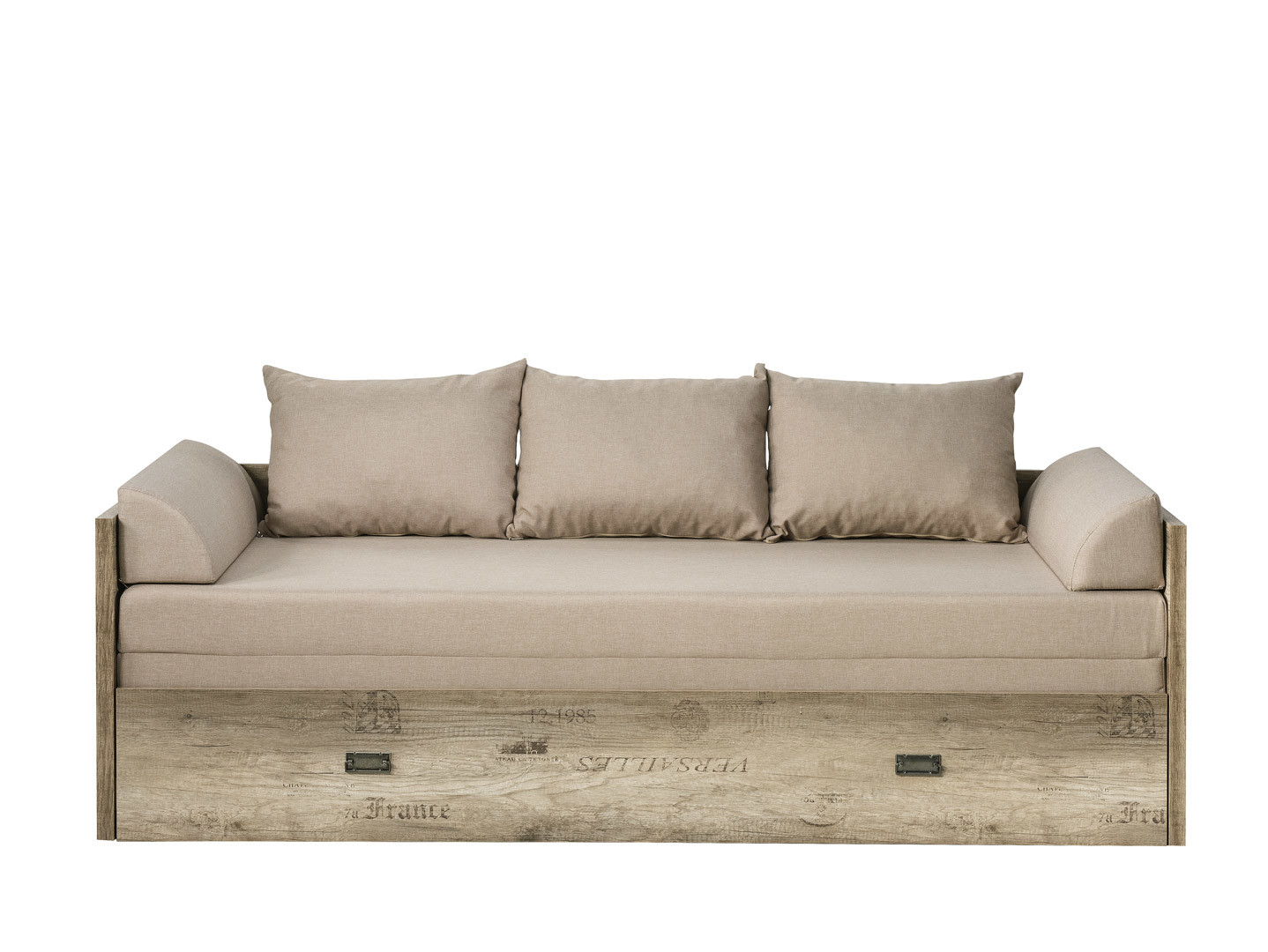 Rozkládací postel 80 až 160 cm - BRW - Malcolm - LOZ/80/160 (s roštem)