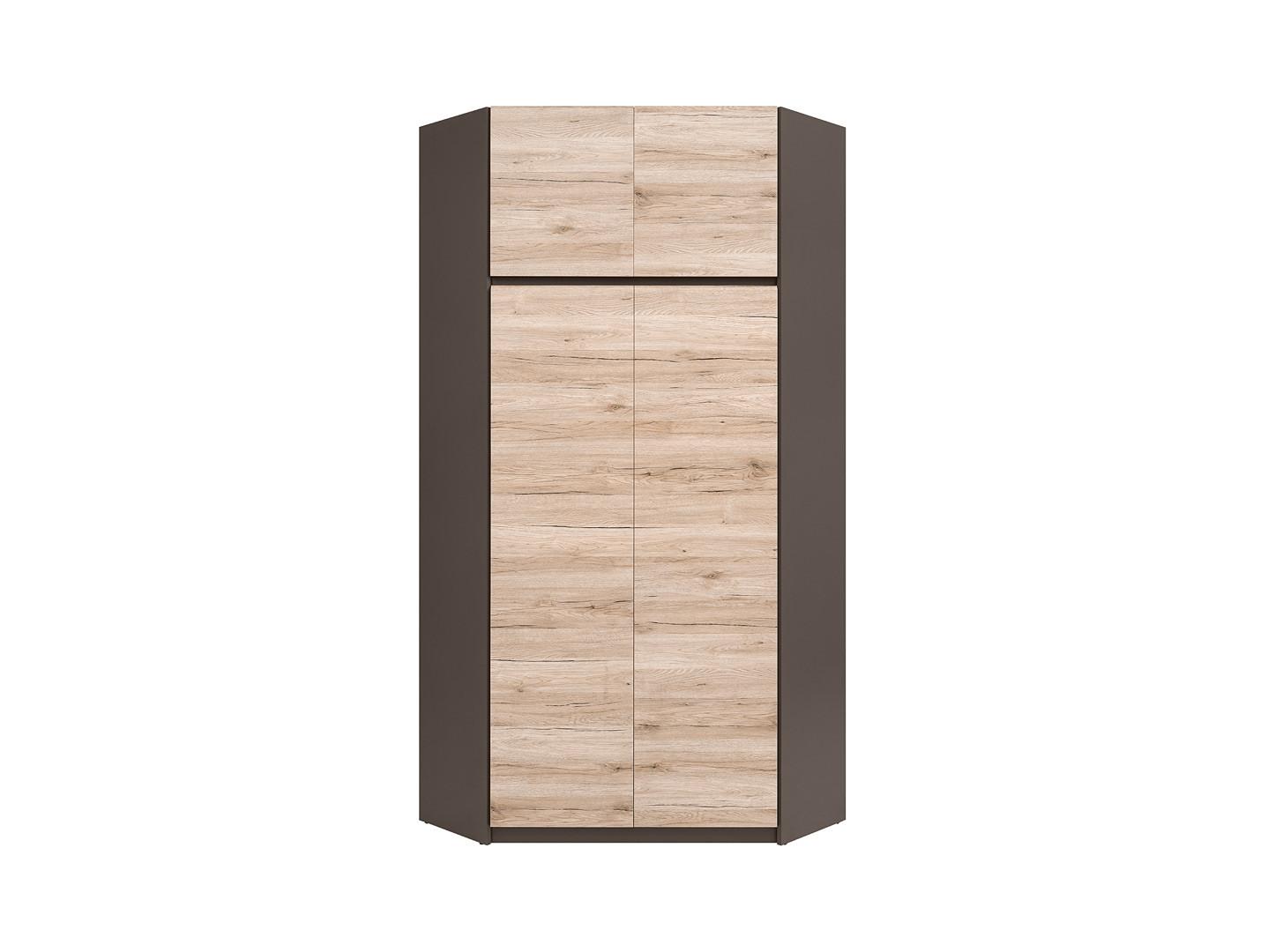 Rohová šatní skříň - BRW - Moden - SZFN2D