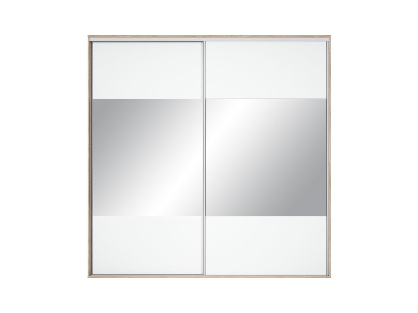 Šatní skříň - BRW - Nadir 240 (se zrcadlem)