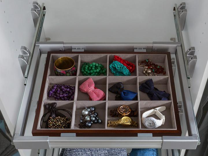 Organizér do šatní skříně - BRW - Nadir