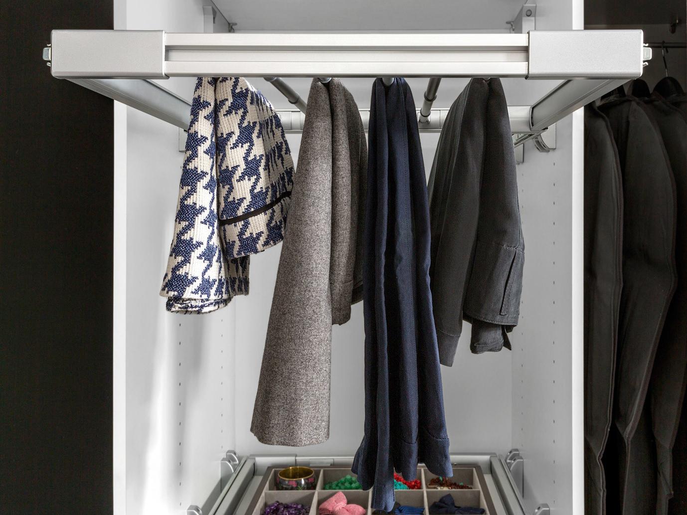 Věšák do šatní skříně - BRW - Nadir