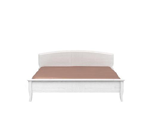 Manželská postel 160 cm - BRW - Orland - LOZ/160 (Dub bělený)