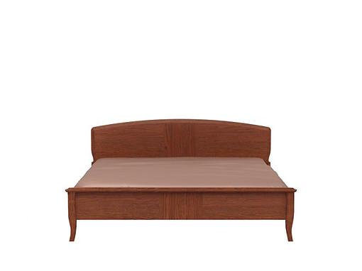 Manželská postel 160 cm - BRW - Orland - LOZ/160 (Dub Mocca)