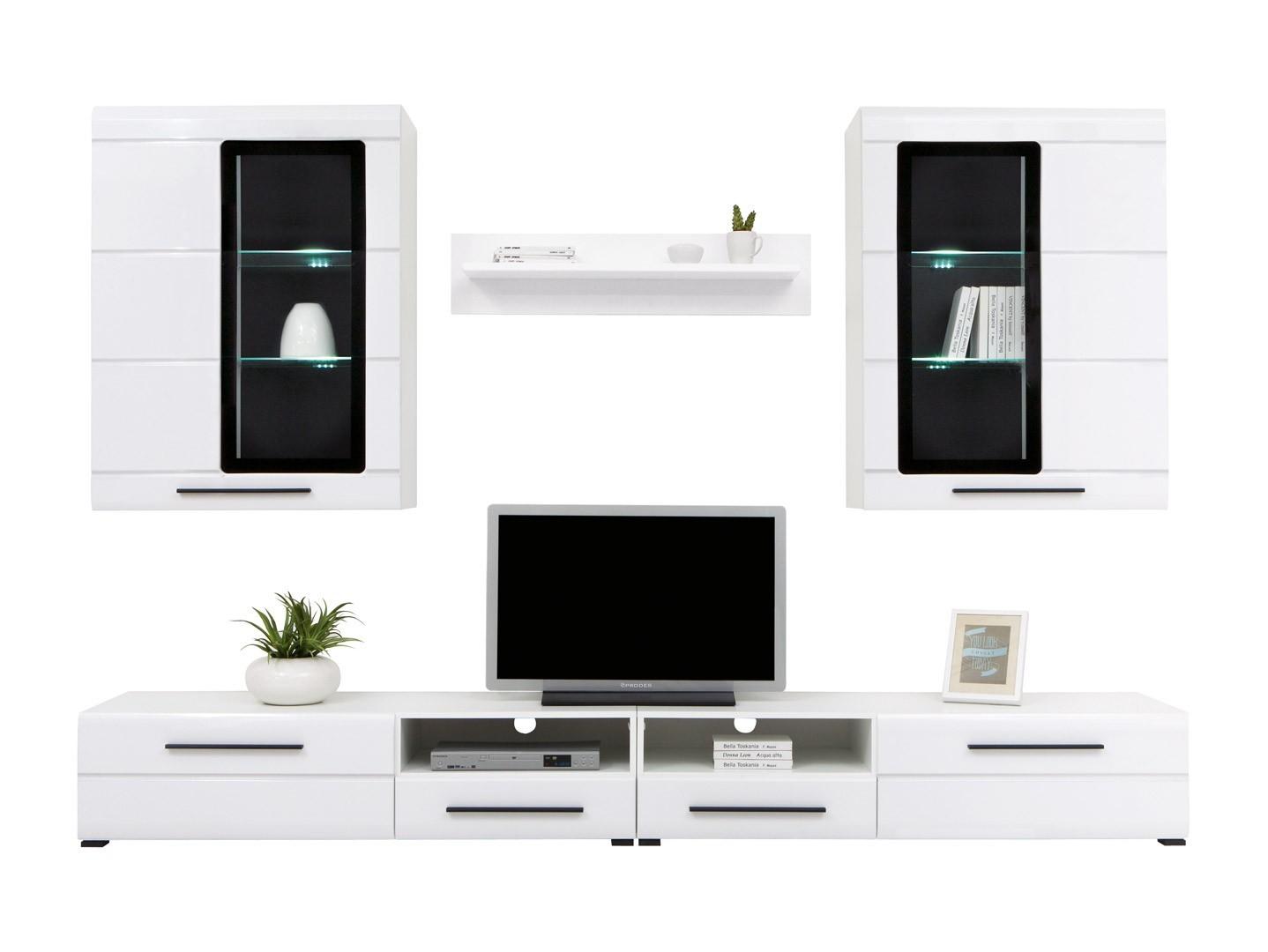 Obývací stěna - BRW - Vitto (s osvětlením)