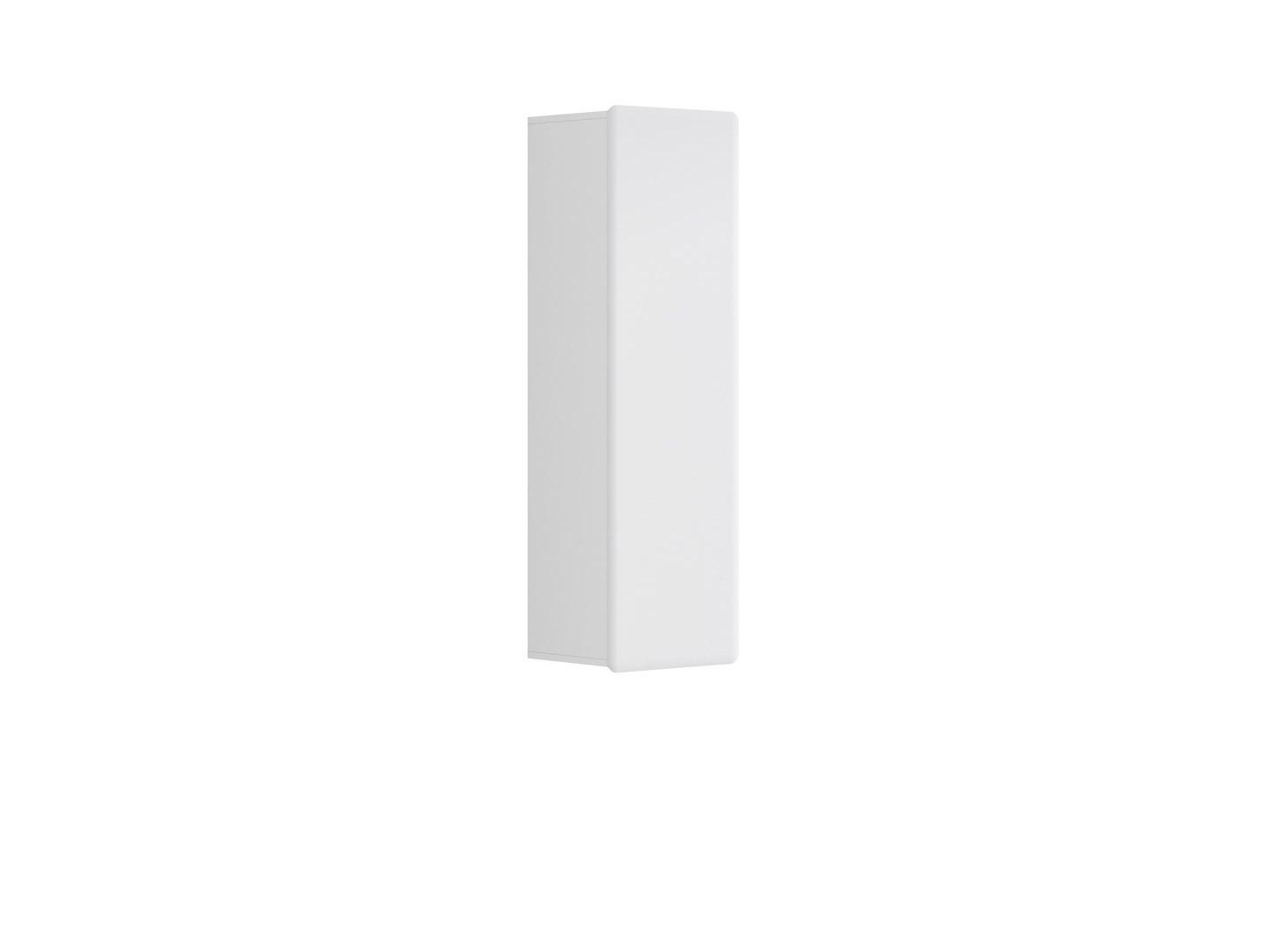 Skříňka na stěnu - BRW - Possi Light - SFW1D/13/4 (bílá + lesk bílý)